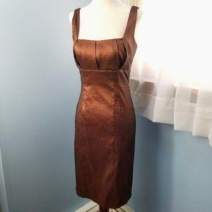 Calvin Klein Bronze Sheath Dress